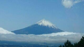 感動の富士山